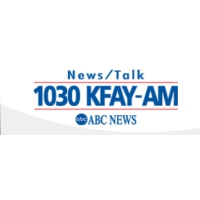 Logo of radio station KFAY 1030