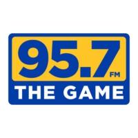 Logo of radio station KGMZ The Game 95.7