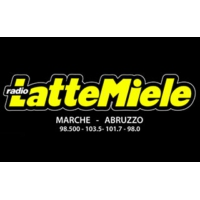 Logo of radio station LatteMiele Marche