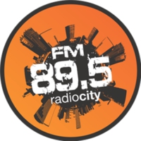 Logo of radio station FM 89.5 Radio City