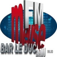 Logo of radio station Meuse FM Bar-le-Duc Commercy