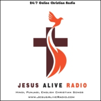Logo of radio station Jesus Alive Christian Radio
