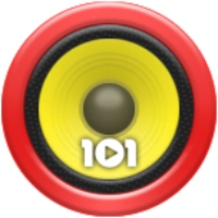 Logo of radio station 101.ru - Humor Non Stop