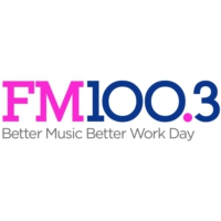 Logo of radio station KSFI FM 100.3