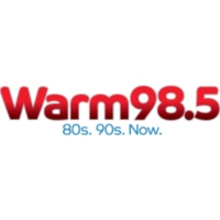 Logo of radio station WRRM Warm 98.5