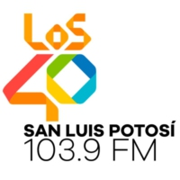 Logo of radio station XHEWA LOS40 103.9 FM