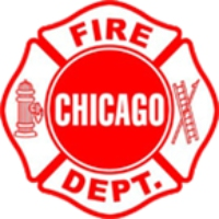 Logo de la radio Chicago Fire Scanner