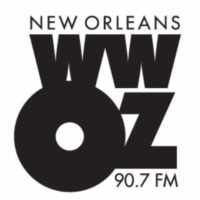 Logo of radio station WWOZ 90.7 FM