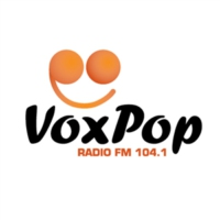 Logo of radio station VoxPop Radio