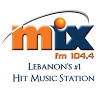 Logo of radio station MIX FM 104.4