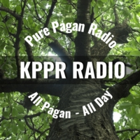 Logo of radio station KPPR Pure Pagan Radio