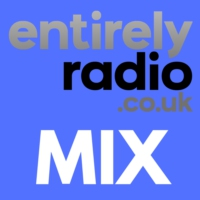 Logo of radio station Entirely Radio Mix