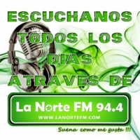 Logo of radio station La Norte 94.4 FM