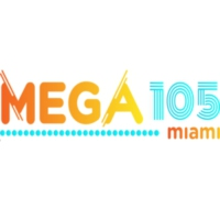 Logo of radio station La Mega105