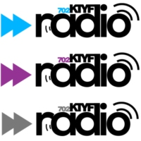 Logo of radio station 702KTYF