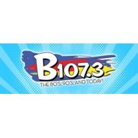 Logo of radio station KBBK B107.3