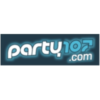 Logo of radio station Party 107 FM
