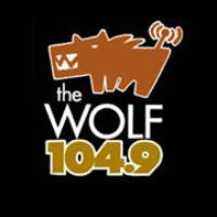 Logo of radio station CFWF (The Wolf)