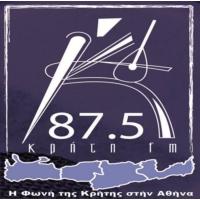 Logo of radio station Kriti 87.5 FM