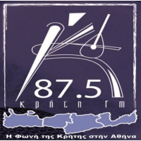 Logo of radio station Kriti 87.5 FM