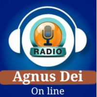 Logo of radio station AGNUS DEI RADIO.