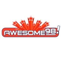 Logo de la radio KKCL Awesome 98