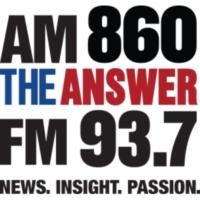 Logo of radio station WGUL AM 860 The Answer