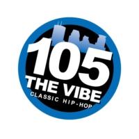 Logo de la radio WGVX 105 The Vibe