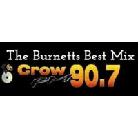 Logo of radio station Crow FM