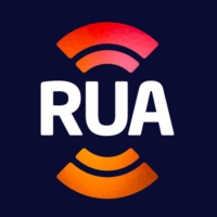 Logo of radio station RUA FM