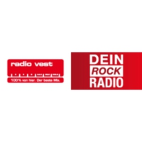 Logo of radio station Radio Vest – Dein Rock Radio