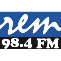 Logo of radio station R.E.M 98.4 FM
