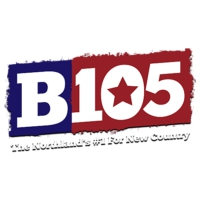 Logo of radio station KKCB B105