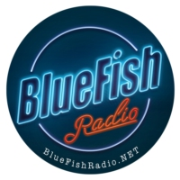 Logo of radio station BlueFish Radio