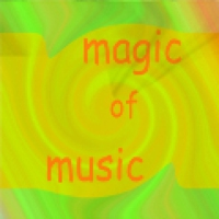 Logo of radio station Magic of music