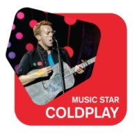 Logo of radio station Radio 105 Music Star ColdPlay