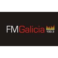 Logo of radio station FM Galicia 100.3