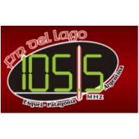 Logo of radio station Del Lago 105.5 FM
