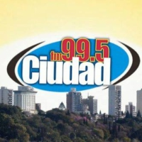 Logo of radio station FM Ciudad Paraná 99.5 Mhz