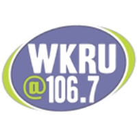 Logo of radio station WKRU 106.7
