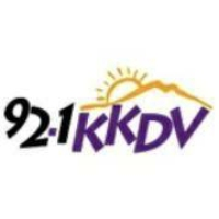 Logo of radio station KKDV