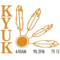 Logo of radio station KYUK AM