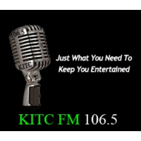 Logo of radio station KITC 106.5