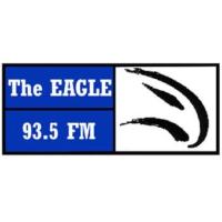 Logo of radio station The Eagle 93.5
