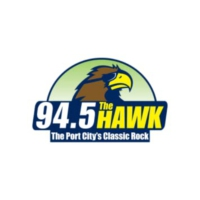 Logo of radio station WKXS 94.5 The Hawk