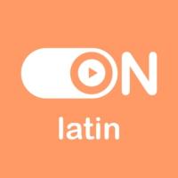 """Logo de la radio """"ON Latin"""""""