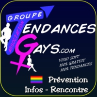 Logo of radio station Tendances Gays