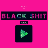 Logo of radio station BLACK SHIT RADIO