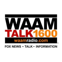 Logo of radio station WAAM Talk 1600
