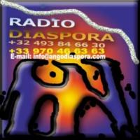 Logo of radio station Ango Diaspora
